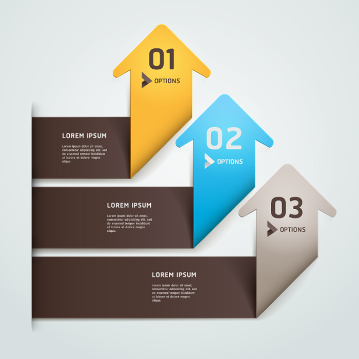 Infographic Paper Tags