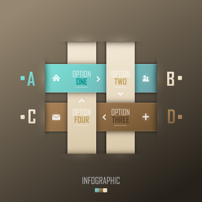 Infographics Interweave
