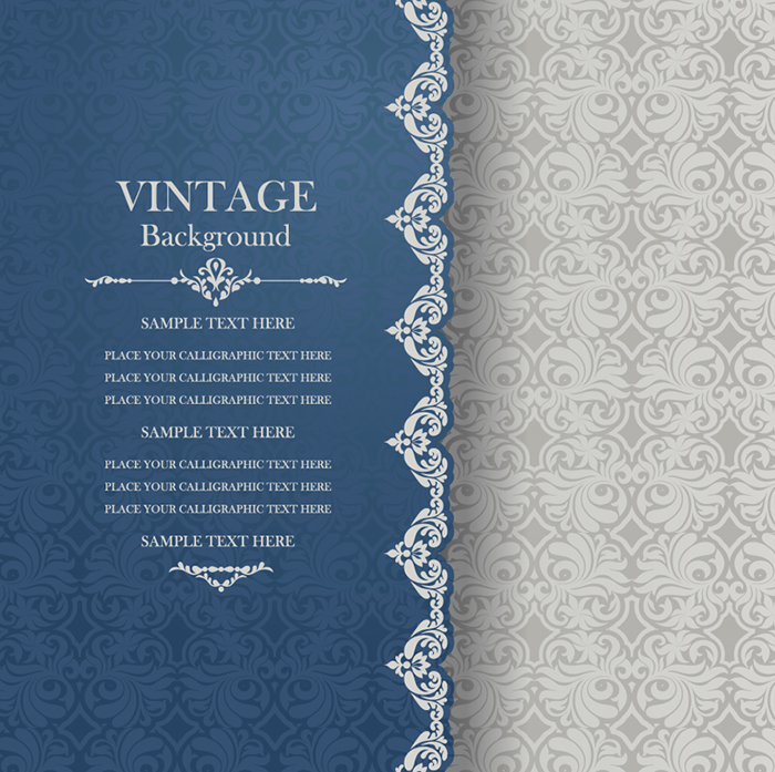 Pattern Vintage Background