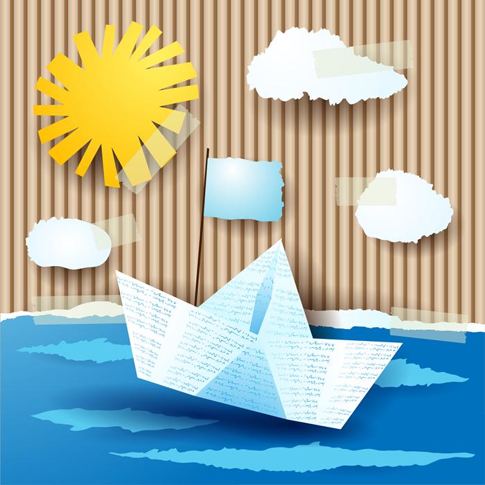Sun Paper Boat - Baby Dreams