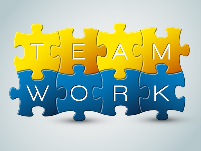 Team Work Free Vector Graphic Download