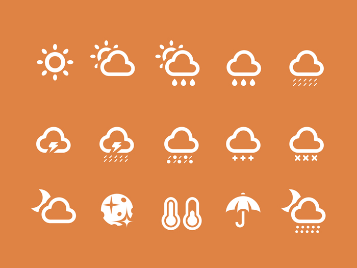 Weather Icons 18