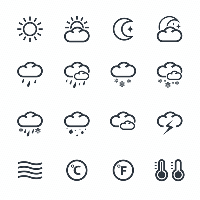 Weather Icons 19