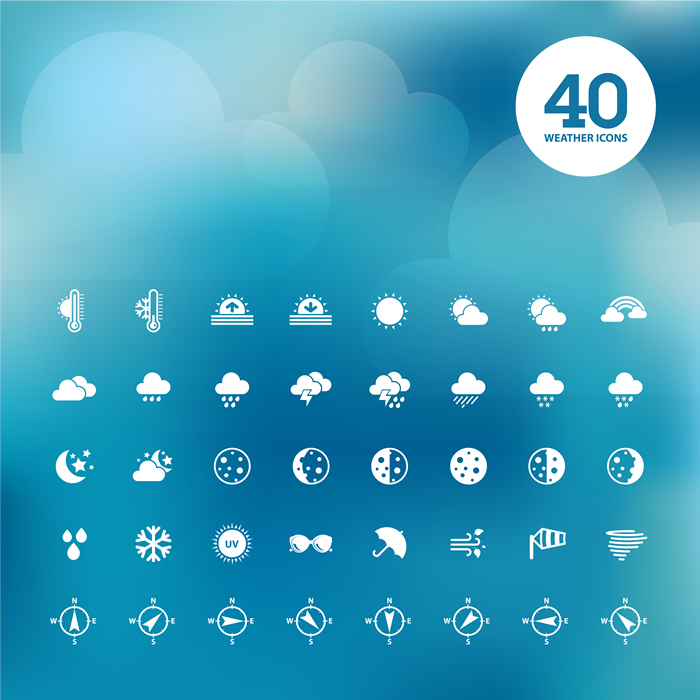 Weather Icons 24