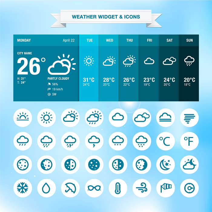 Weather Icons 25