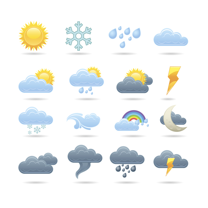 Weather Icons 5