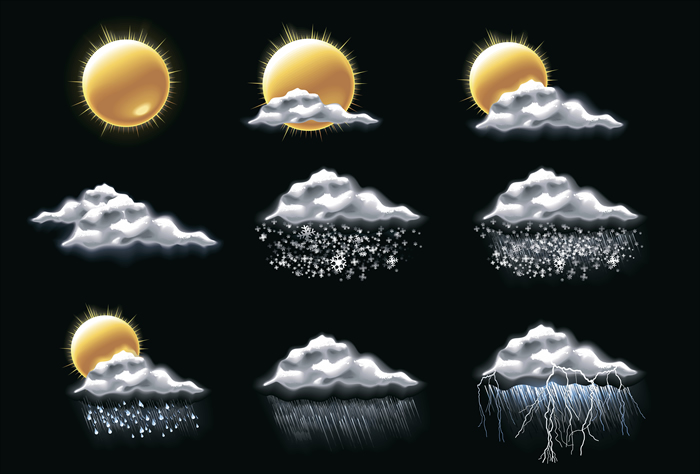 Weather Icons 6