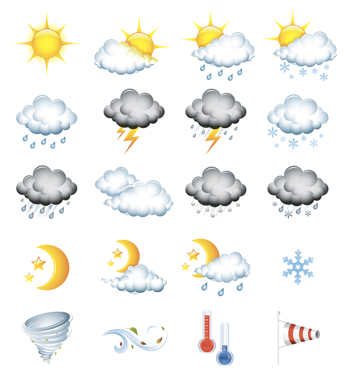 Weather Icons 7