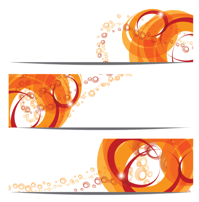 Abstract Bubble Banner