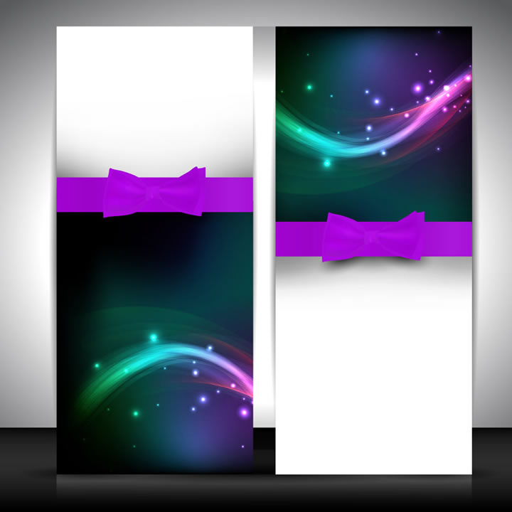 Abstract Greeting Card Background