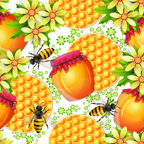 Bees Honeycomb and Honey Products 3