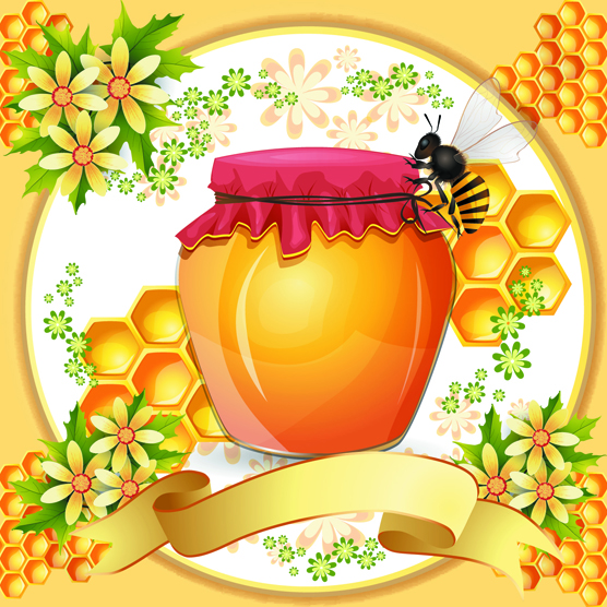 Bees Honeycomb and Honey Products 4