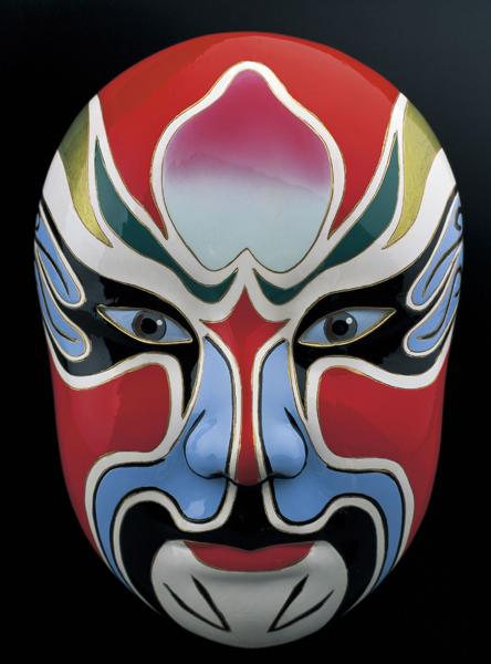 Chinese Drama Mask