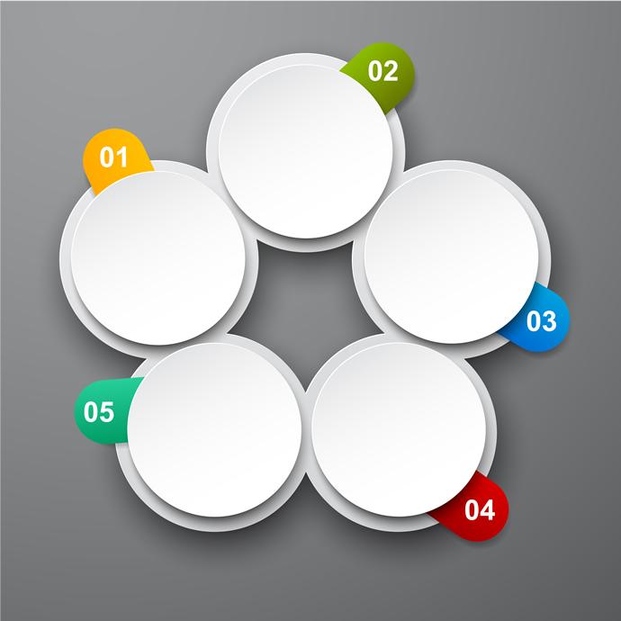 Circle Infographics Desgin 4