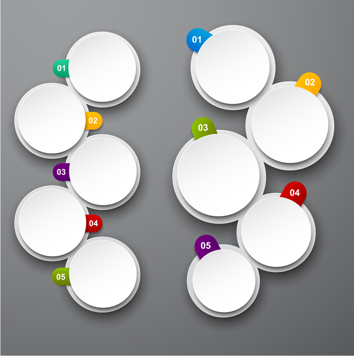 Circle Infographics Desgin