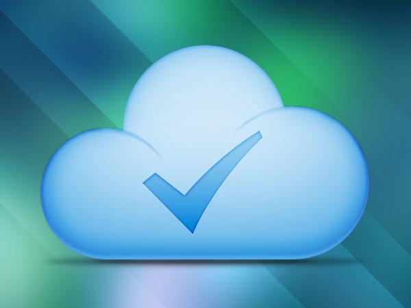 Cloud Download Success Button