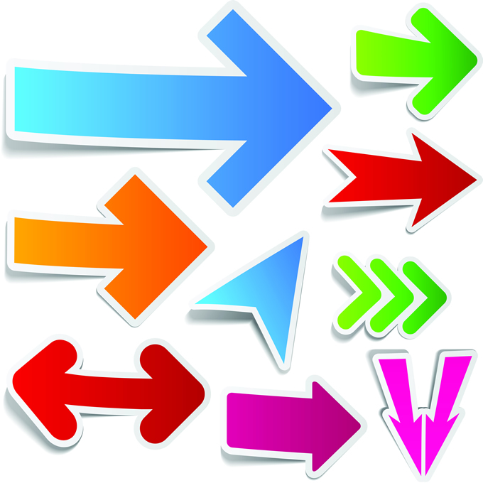Colorful Arrows Design