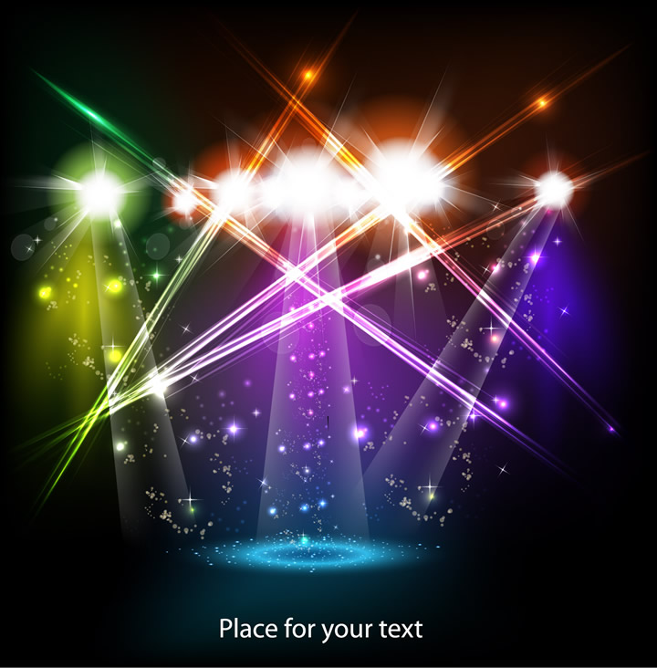 Colorful Light Background