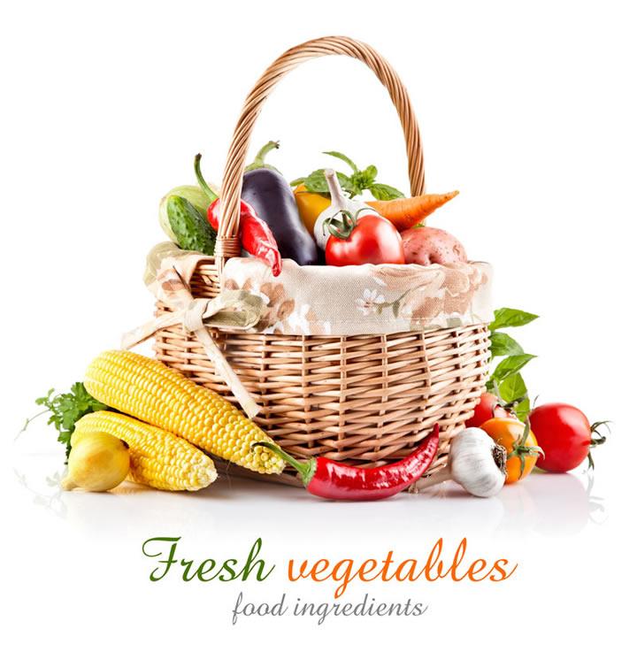 Fresh Wegetables Food Ingredients