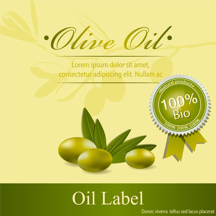 Green Olives Background