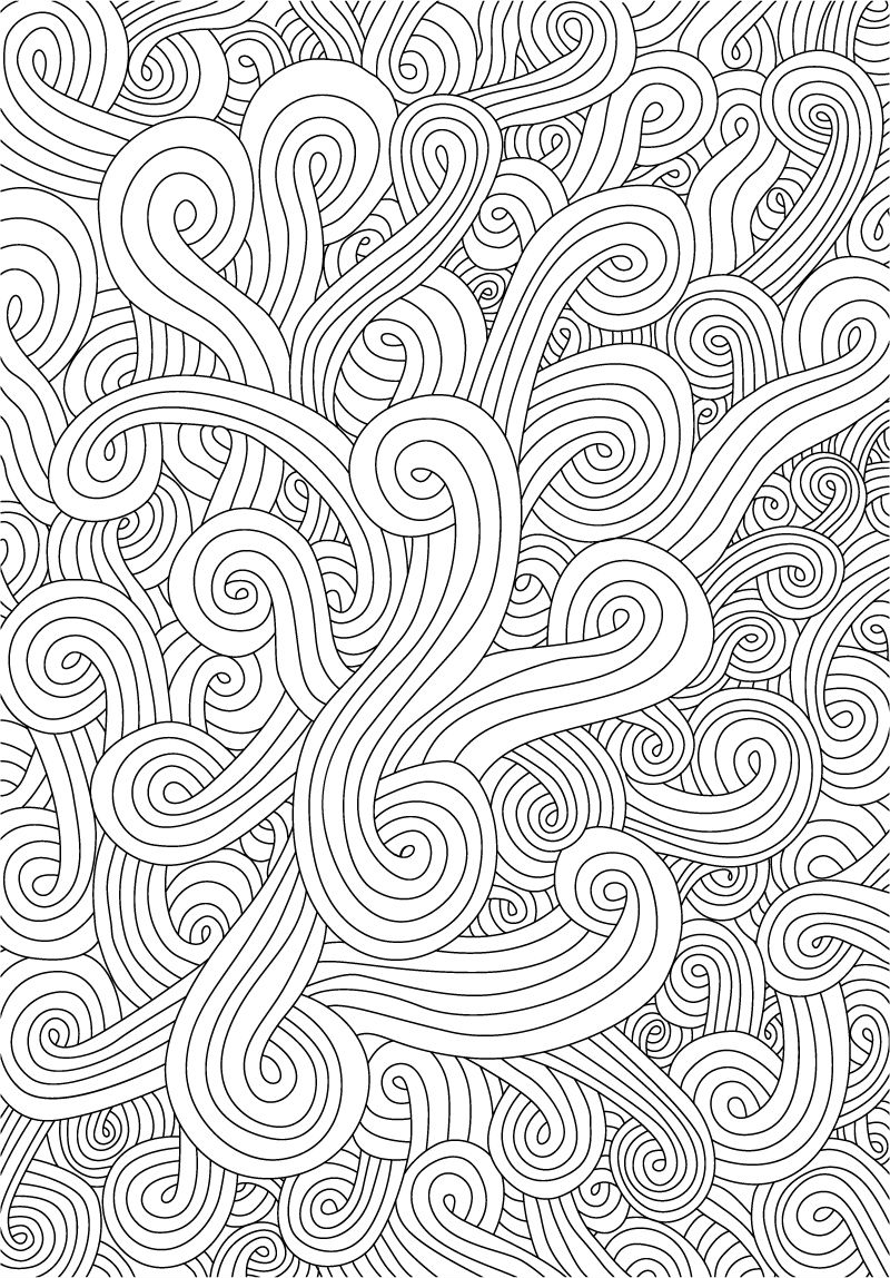 Hand Drawn Waves Free Vector Graphic Download