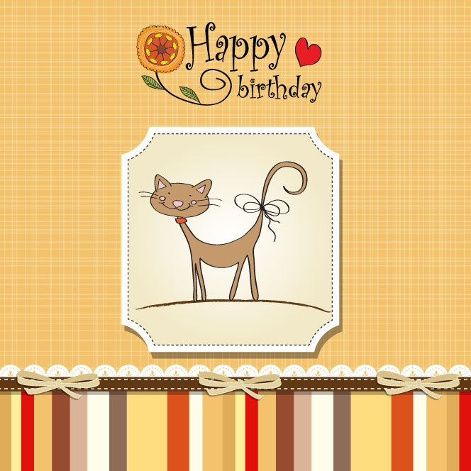 vector free download birthday card - photo #14