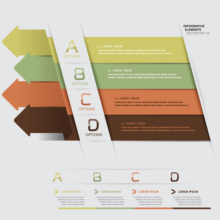 Infographic Arrow Elements