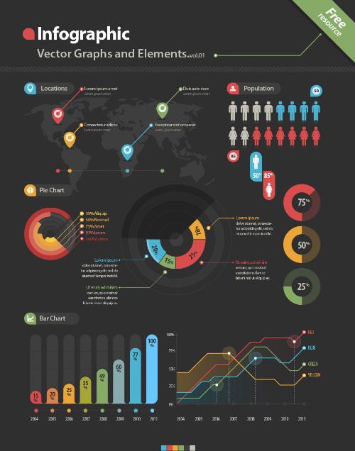 Infographic Chart Data