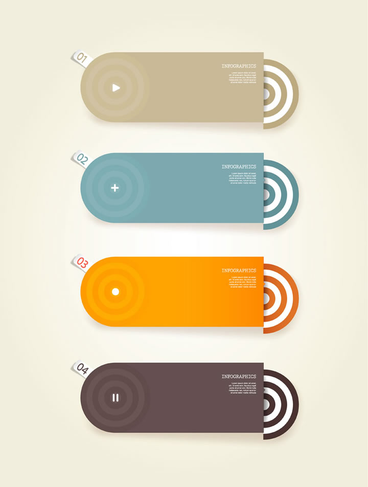 Infographic Numbered Annulus