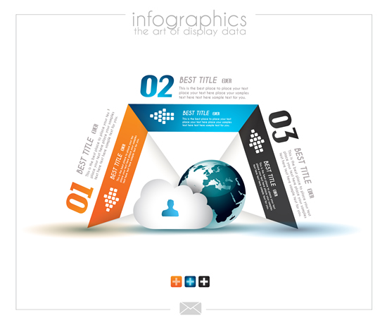 Infographics Display Data