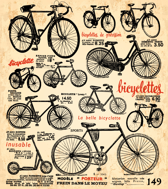 La belle Bicyclette Inusable