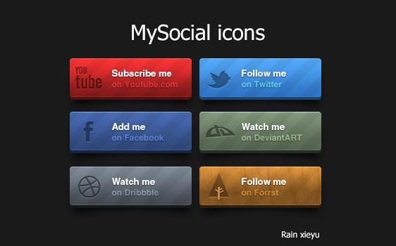 MySocial Icons