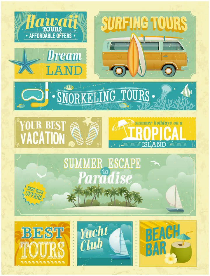 Nostalgic Hawaii Tours Posters