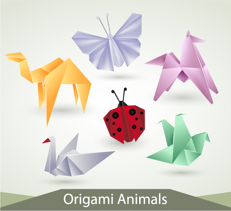 Origami Animals Free Vector Graphic Download