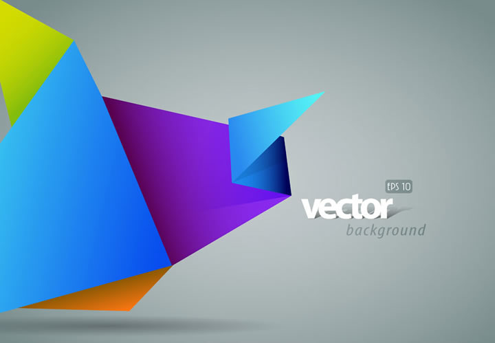 Origami Background : Free Vector Graphic Download