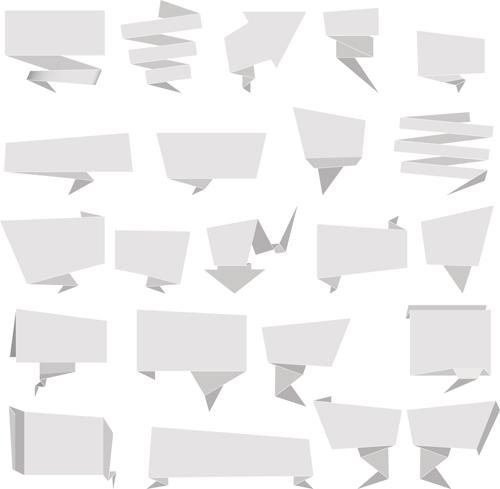 Origami Blank Dialog Box
