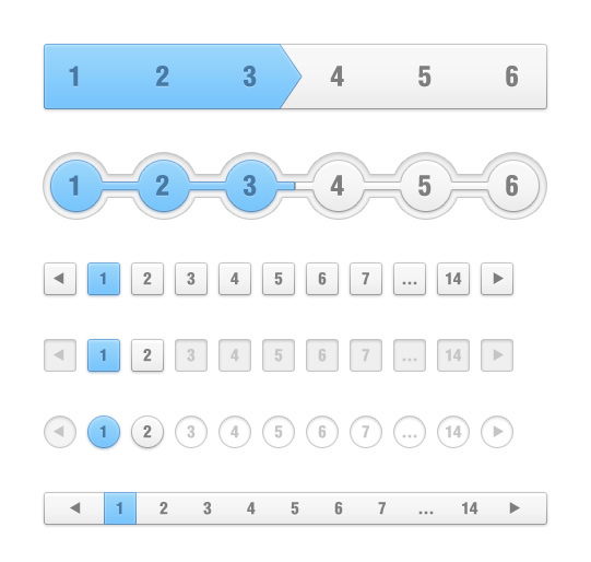Pagination UI Design