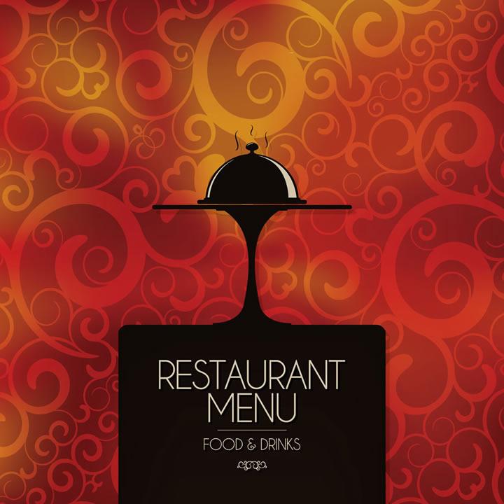 Restaurant Menu Food & Drinks