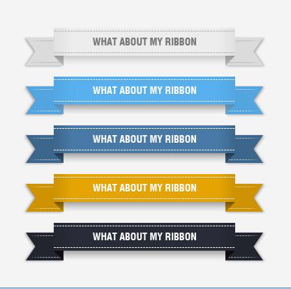 Ribbon Label