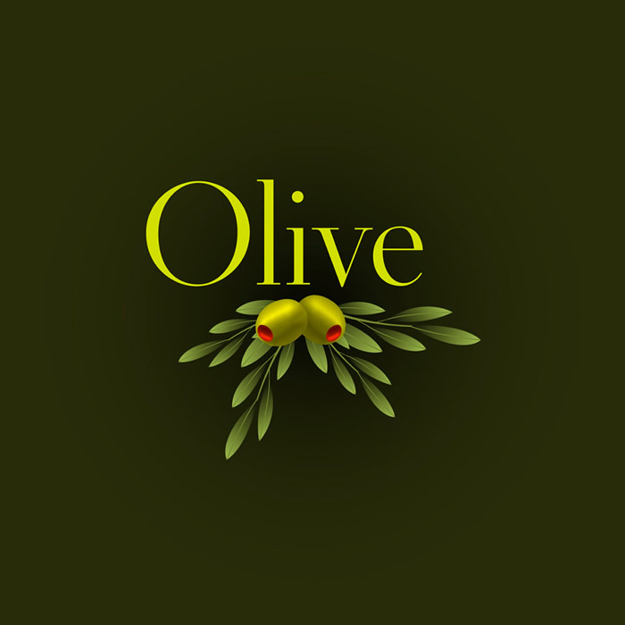 Simple Olive Background