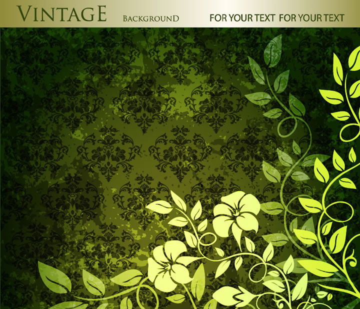 Vintage Pattern Background 5