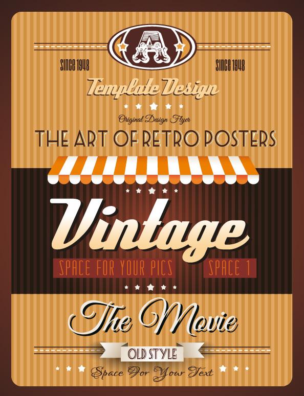 Vintage Retro Posters