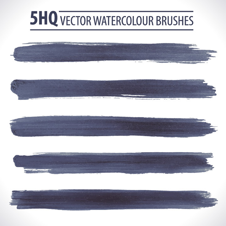 Watercolour Brushes Grunge