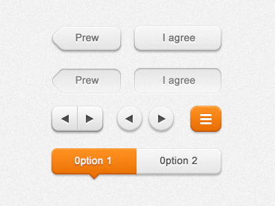 White Button UI