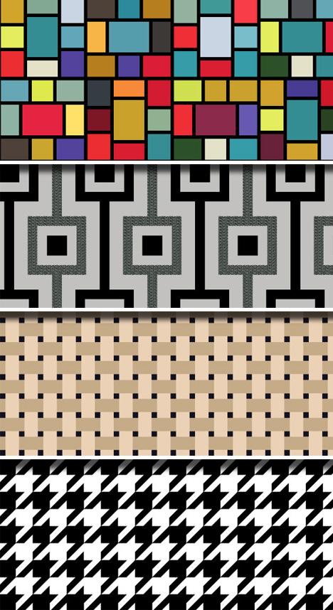cb 4 Fabric Patterns