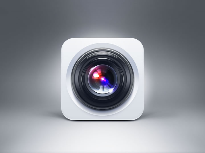 iPhone 4s Camera Icon