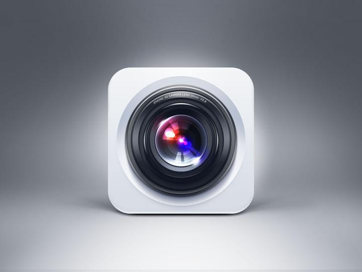 iPhone 4s Camera Icon