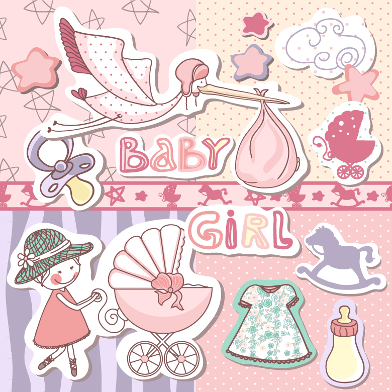 Baby Girl Free Vector Graphic Download