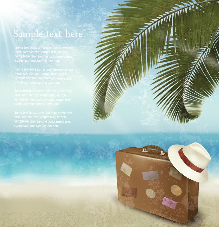 Beach Suitcase