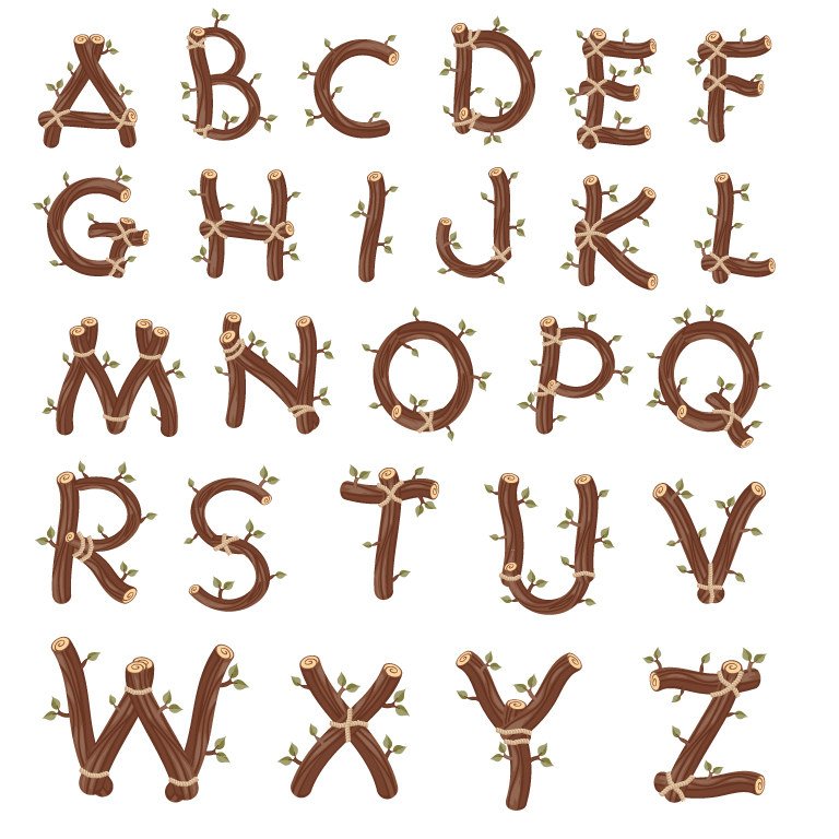 Branches Alphabet